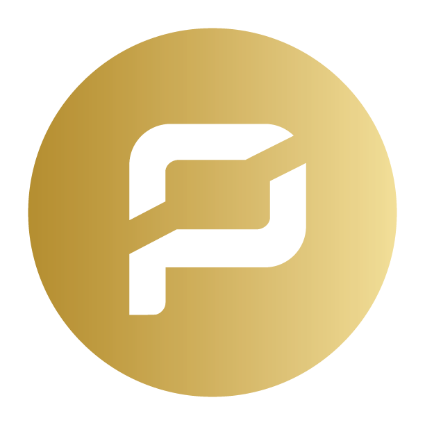 Gold ARRR Pirate coin logo