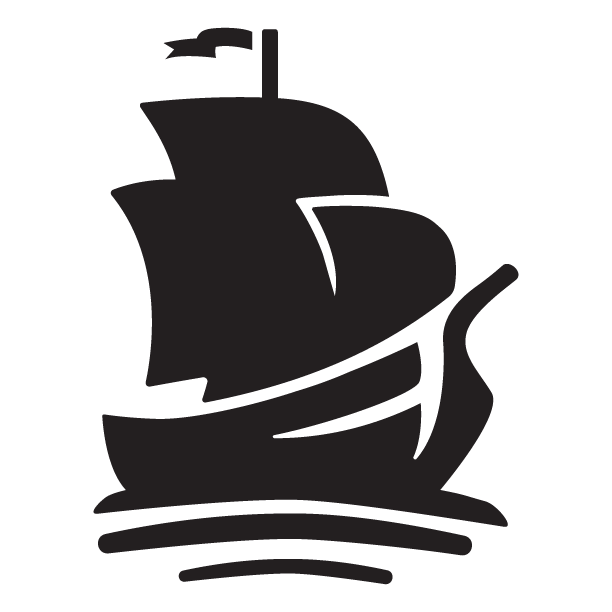 Pirate Ship Arrrmada logo black