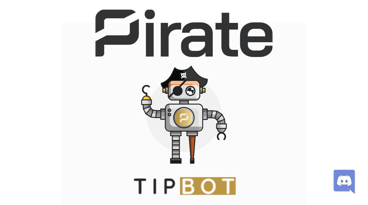 Pirate tipbot