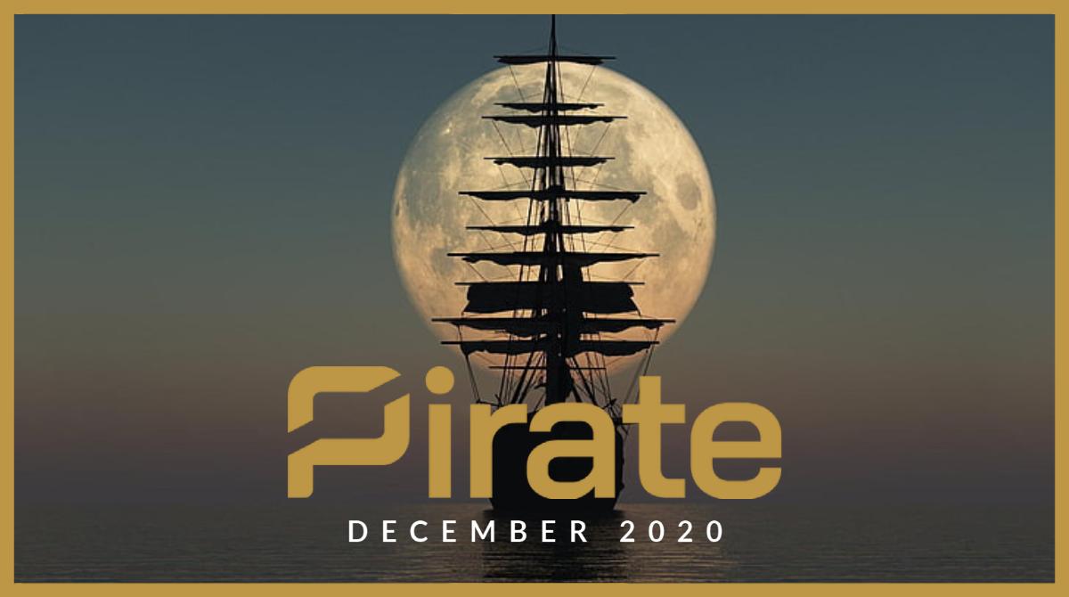 Pirate Chain Newsletter – December 2020 edition - Pirate Chain (ARRR)