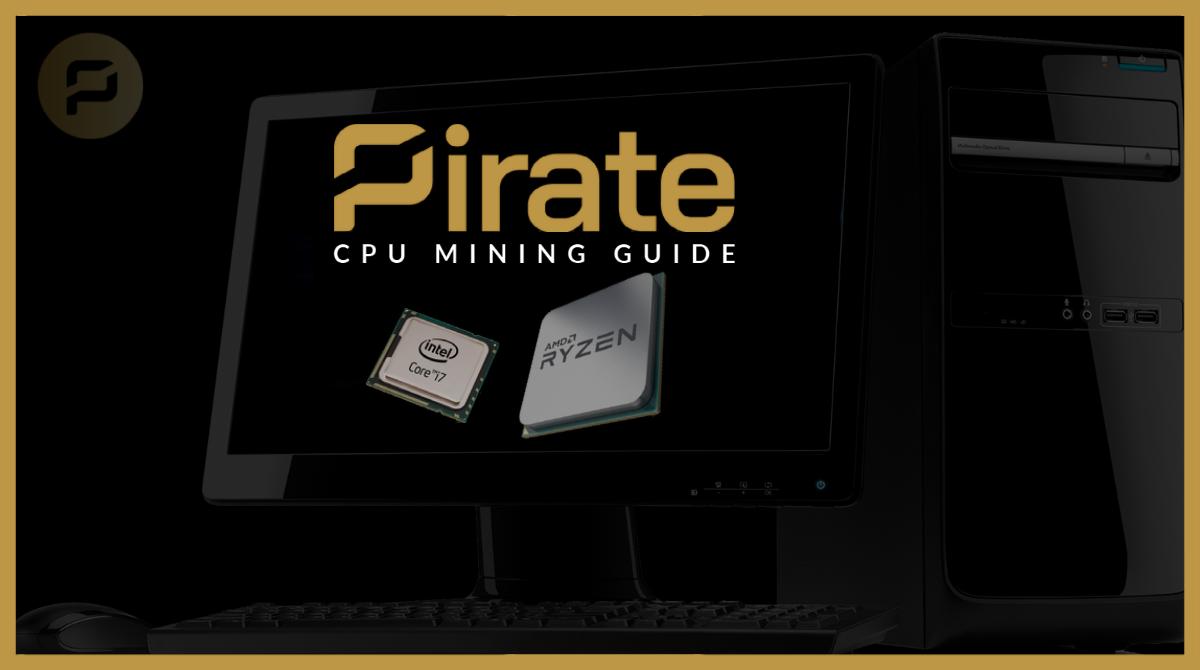 CPU Mining Guide for ARRR