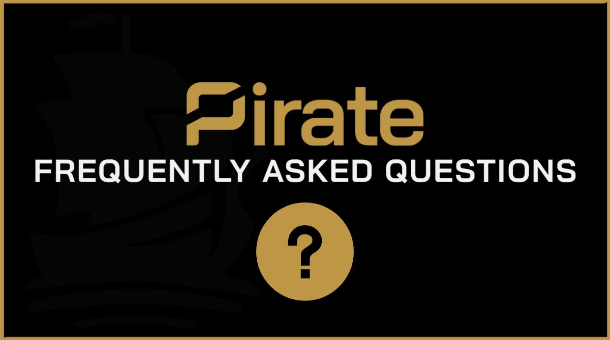 FAQ - Pirate Chain (ARRR)