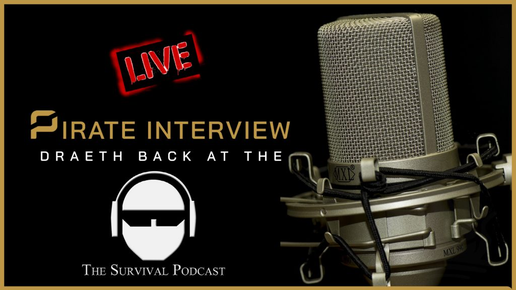pirate interview survival podcast
