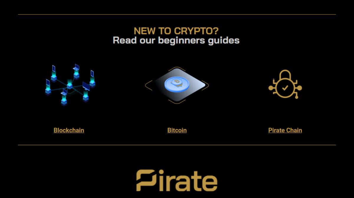 Beginners Guide to Blockchain, Bitcoin & Pirate Chain ARRR