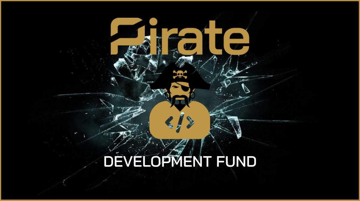 Development Fundraiser - Pirate Chain (ARRR)