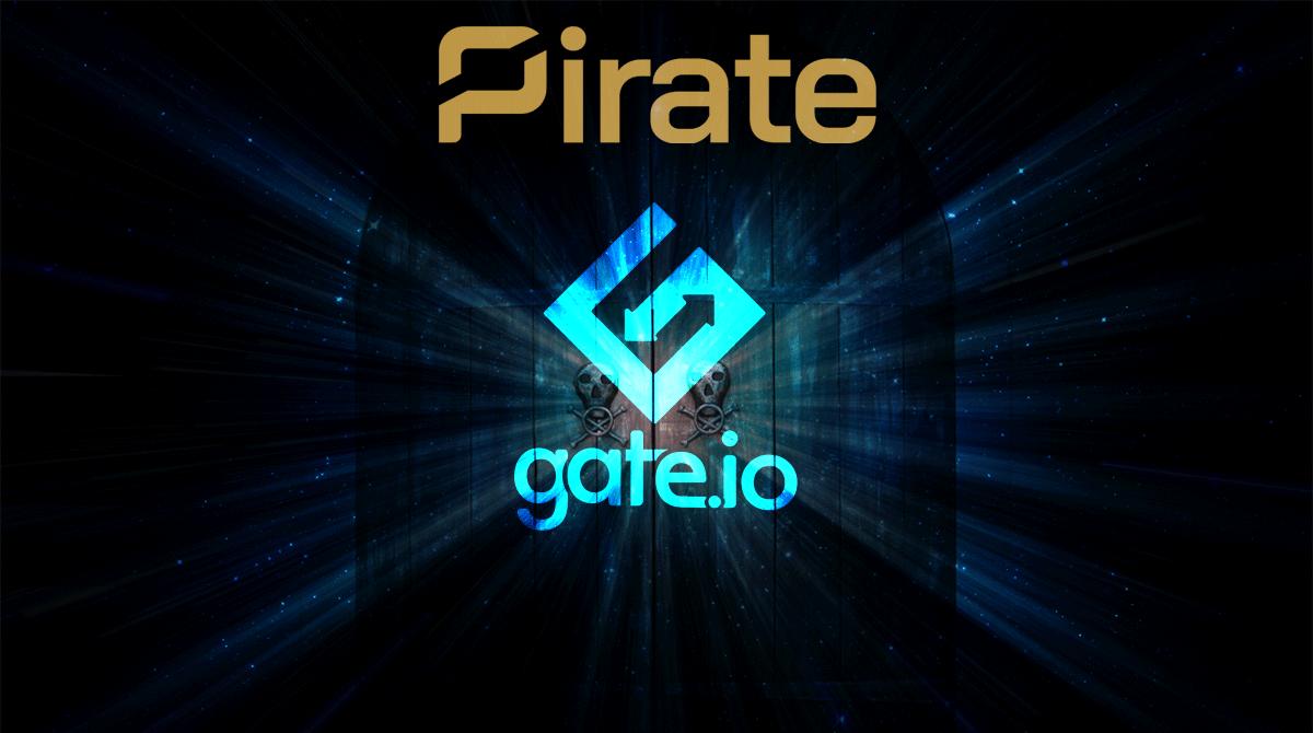 New Exchange Listing: Gate.io - Pirate Chain (ARRR)